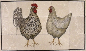 Contemporary Chickens