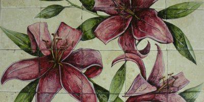 """Lilies 24""""x30"""""""