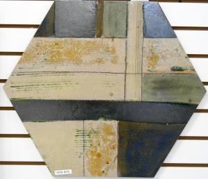 Sage Green Hexagon Tile