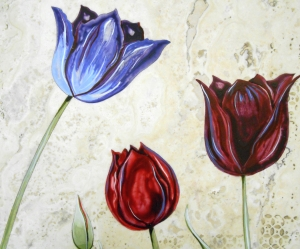 Detail of Contempo Tulips