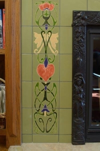 Customized Unique Art Deco Tiles