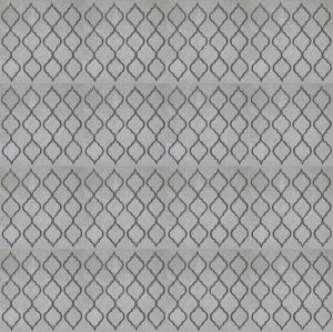 Stormy Gray Pattern Tile Pattern