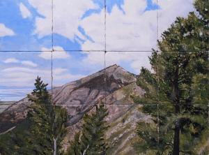 """Glorious Mountain, 18""""x24"""""""