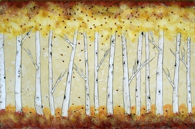 Blissful Aspen Grove 16″x24″