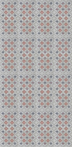 Classic Mosaic Geomtric Tile Pattern
