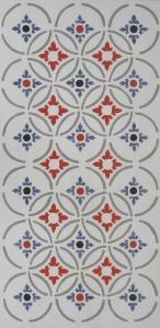 Classic Mosaic Geomtric Tile, 12x24