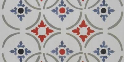 Classic Mosaic Geometric Tile, 12x24