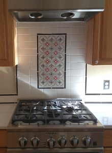 Classic Mosaic Geometric Tile Installed