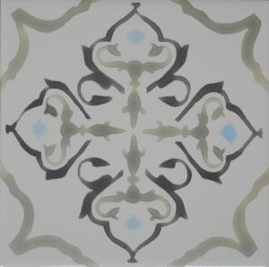 "Ash Gray Classic Tile, 6""x6"""