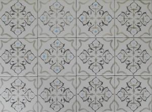 Ash Gray Classic Tile Pattern